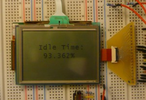 Driving a Controllerless graphic LCD With a PIC32 | CafeLogic