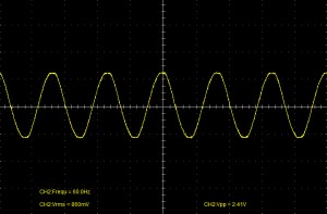 AC Coupled Waveform