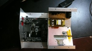 Inside of the reflow controller