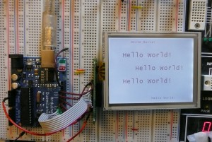 Bitmap Text With Arduino